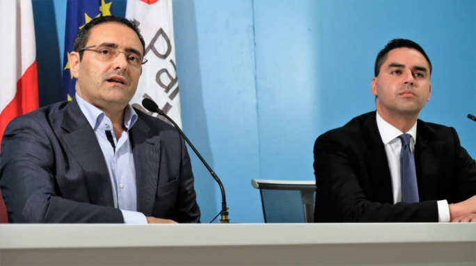 Labour Party CEO Gino Cauchi and Parliamentary Secretary for EU Funds Ian Borg said the PN had now been found to have adopted three illegal schemes to fund its operations