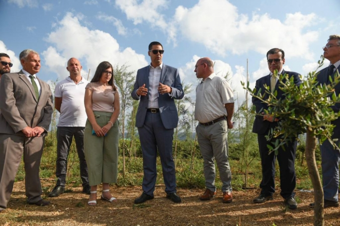 [WATCH] Minister showcases green fingers with €1m tree-planting project, ahead of national protest