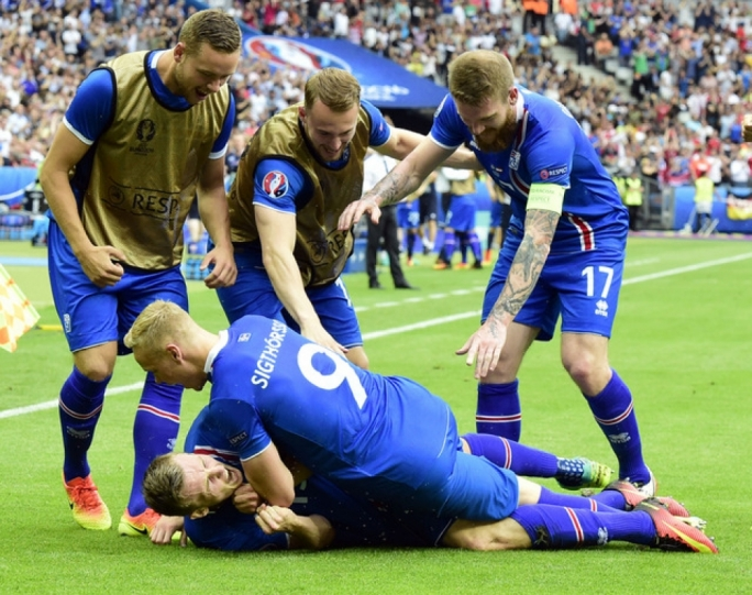 Euro 2016 from row Z | Somebody pull a Leicester...