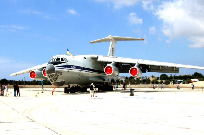 Il-76 transport aircraft of the Ukraine Air Force