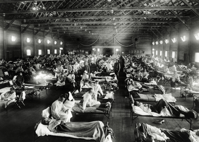 Valuable lessons from history particularly during the Spanish Flu pandemic informed the choices made by today's administrators