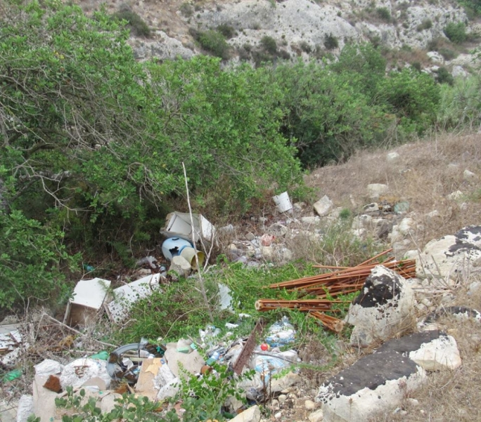 Over 800kg of discarded appliances, other refuse, collected from Wied Qirda