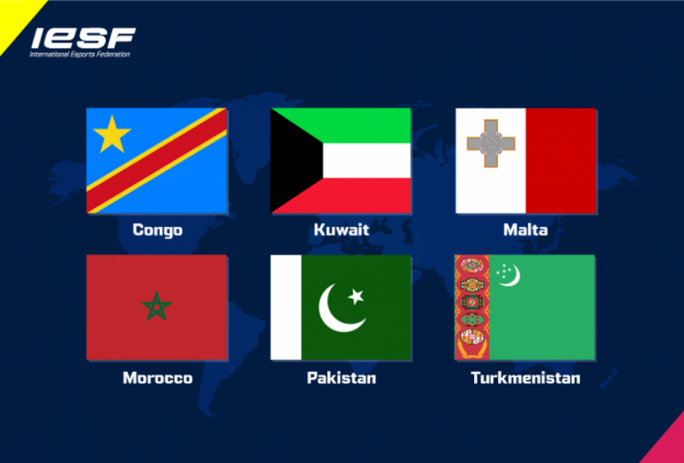 IESF reaches 88 members, with new nations from Asia, Africa and Europe