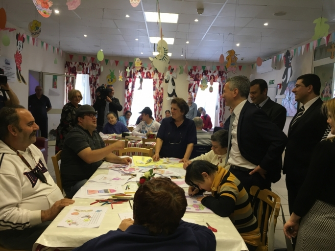 [WATCH] Simon Busuttil visits Dar il-Kaptan on its 25th Anniversary
