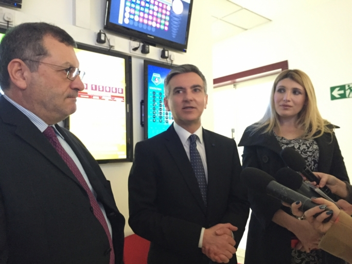 PN leader visits Maltco Lotteries offices