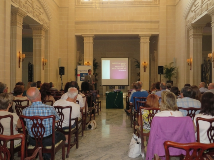Atlas organizes Saħħtek diabetes talk for clients