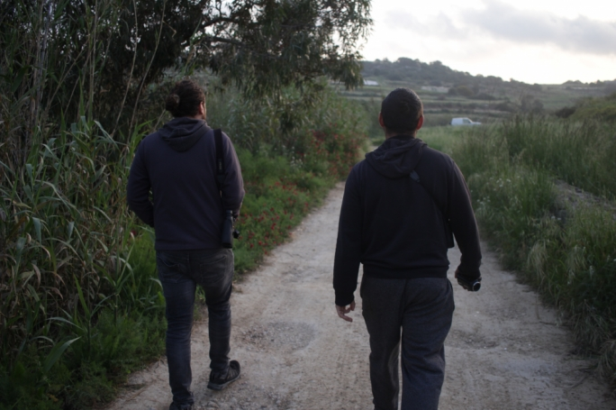 [WATCH] Keeping watch on Maltese hunters, from the break of dawn