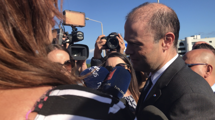 Muscat said that when the Times of Malta reported that a magisterial inquiry had been launched into 17 Black they asked the Attorney General to confirm if that was the case