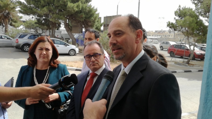 Godfrey Farrugia is contesting with Partit Demokratiku