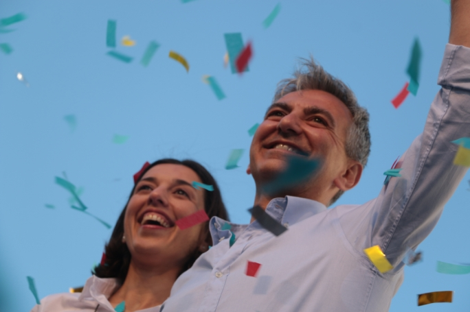PN leader Simon Busuttil with his partner Kristina (Photo: Marc Edward Pace)