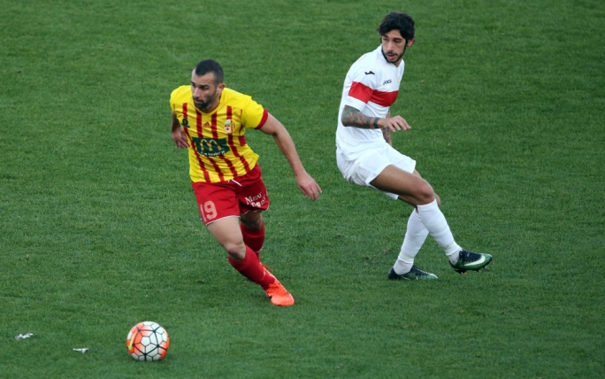 Joseph Zerafa of Birkirkara in action. Photo: Dominic Borg