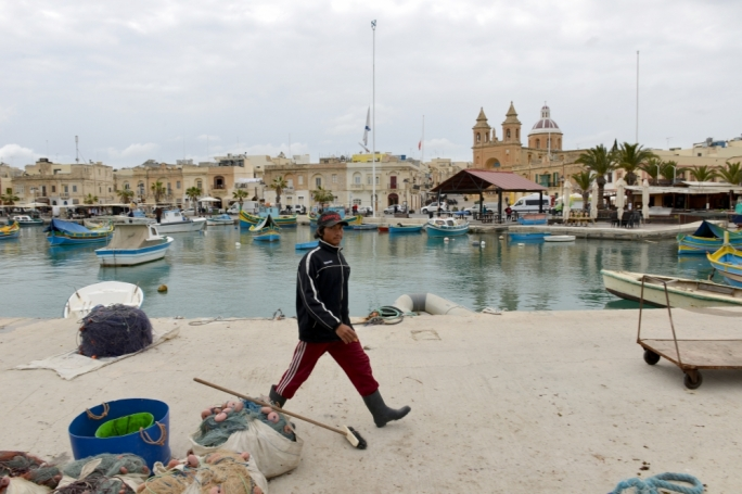 Immigrant labour is an important source of workers for the tuna fishing industry, as more small-scale Maltese fishers abandon the trade