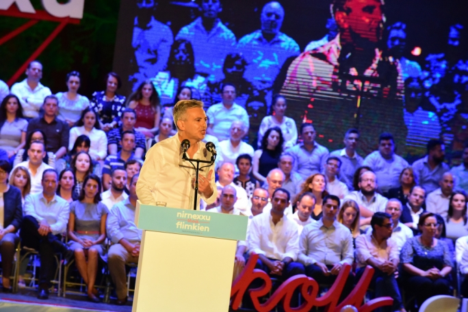 Simon Busuttil promised to reverse the rate on government rent introduced by this administration (Photo: Ivan Consiglio)