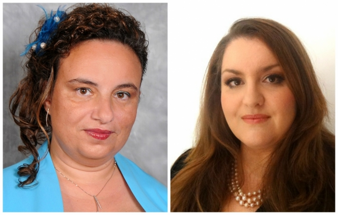 New magistrates Ingrid Zammit Young, and Caroline Farrugia Frendo