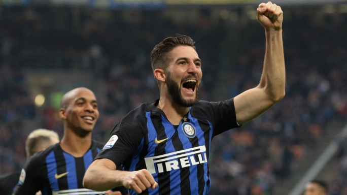 Inter are second following a 5-0 win over Genoa