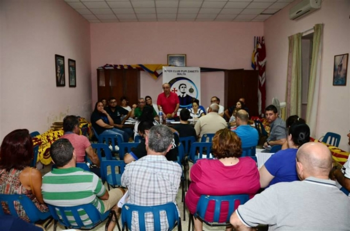 Inter Club PUPI Zanetti Malta first Annual General Meeting. Photos by Charles Vassallo
