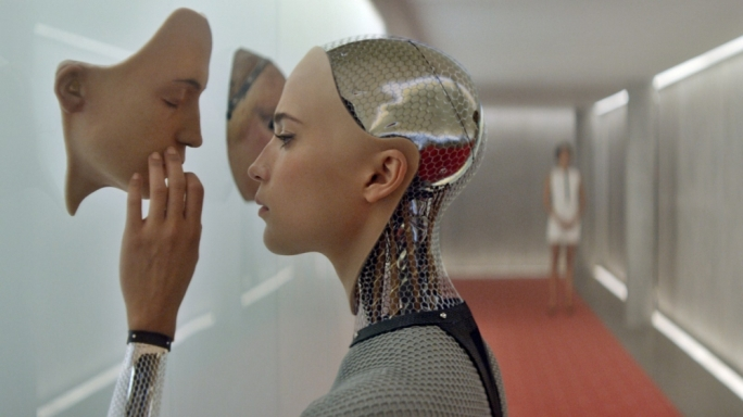 All too human: Alicia Vikander is more than just a robot in Alex Garland's high-concept science-fiction thriller