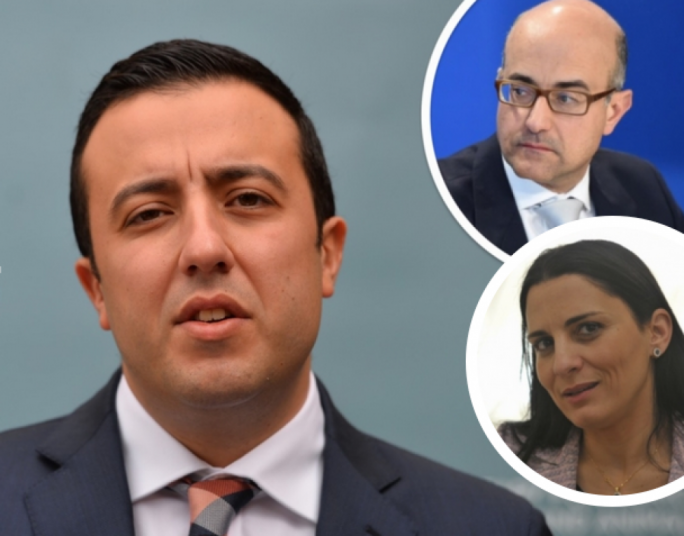 Parliamentary Secretary Clint Camilleri said the report tabled in parliament by PN MP Jason Azzopardi (inset top) on the fisheries sector was done in 2010 and despite its findings Azzopardi had taken Andreina Fenech Farrugia under his wing