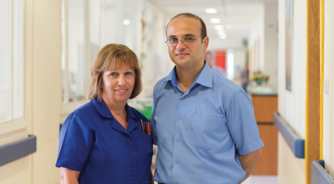 Nurse Anne Agius and researcher Anthony Scerri. (Photo: Jean Claude Vancell)