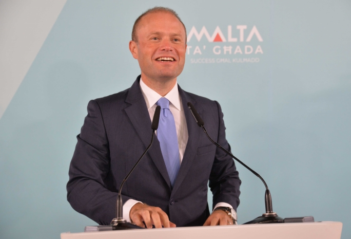 Prime Minister Joseph Muscat insisted that faith in the government was one of the biggest contributors to the country's economic success