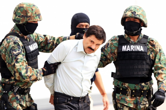 Joaquin Guzman, the head of the Sinaloa drug cartel, was recaptured by Mexican marines in January after breaking out of a high-security prison through a mile-long tunnel
