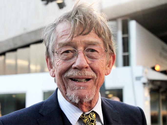 Sir John Hurt has passed away, aged 77