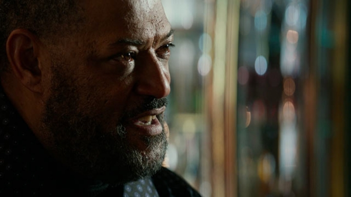 Hobo king: Lawrence Fishburne