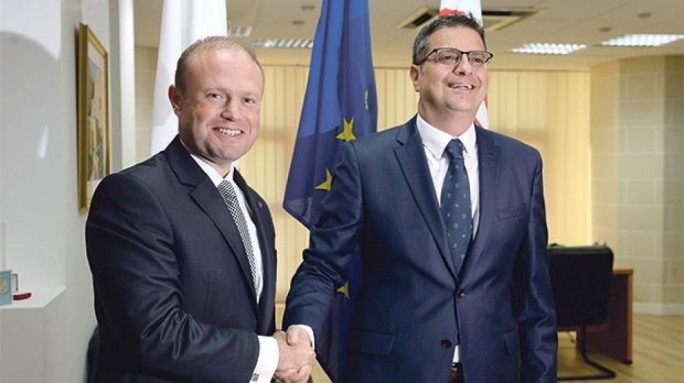 Muscat congratulates Delia on 'beating Busuttil', hopes he can get a grip on PN