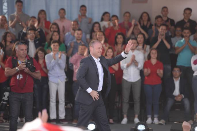 [WATCH] We asked Joseph Muscat why he ignored 17 Black evidence at Workers' Day mass meeting