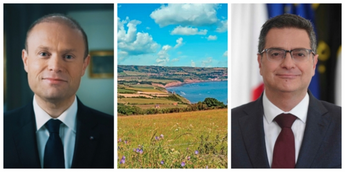 Joseph Muscat and Adrian Delia focus on the environment ahead of the local council and MEP elections