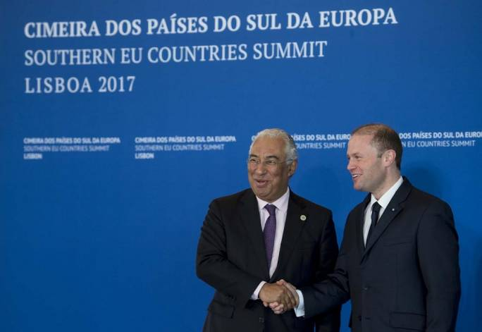 Both Portuguese prime minister Antonio Costa and Malta PM Joseph Muscat (right) preside over citizenship-by-investment regimes