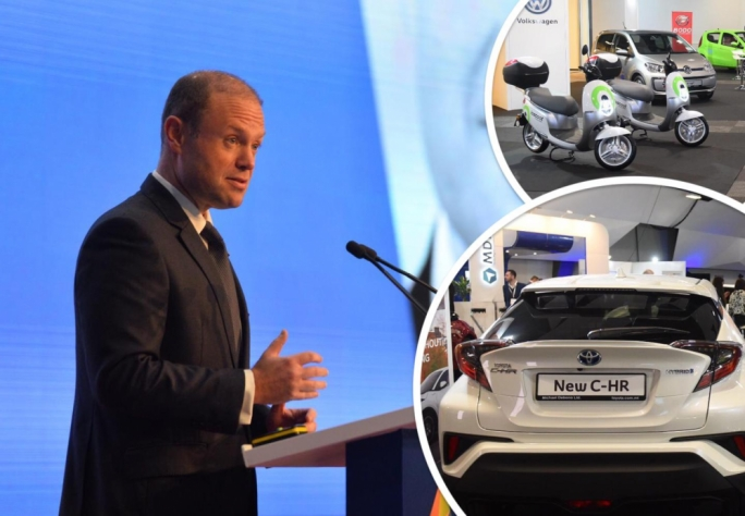 Joseph Muscat says Malta will soon announce its cut-off date by when new cars will be only electric vehicles