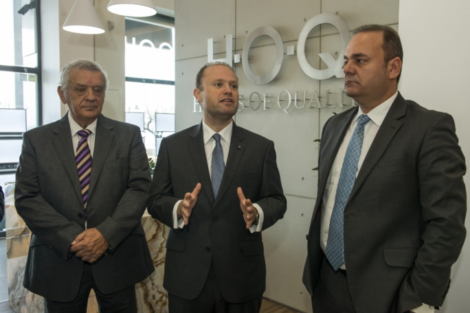 Prime Minister Joseph Muscat remarked that the demand for the quality properties that Homes of Quality specialises in, is high