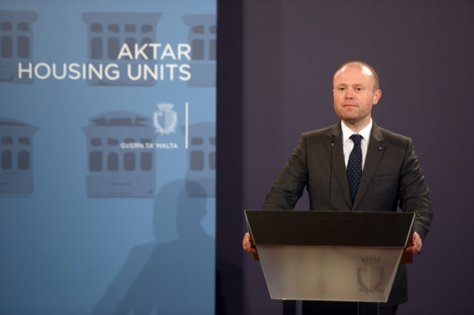 Prime Minister Joseph Muscat described this as the largest ever social housing investment
