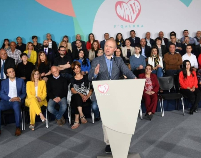 Joseph Muscat ditched the campaign spiel to address the nation