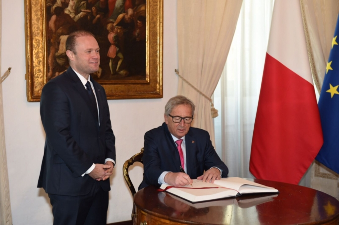 Malta's presidency will be rooted in reality, Muscat tells Juncker
