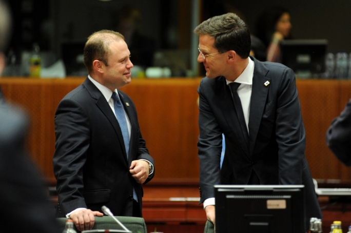 Top EU job for Joseph Muscat? The Brussels bubble thinks Dutch PM Mark Rutte is more likely to get the Council presidency