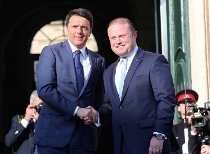 I expect Renzi and Muscat to talk about creating the legal avenues for migration, which the socialists in the European parliament support.