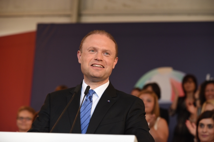 Labour leader Joseph Muscat addresses women in an event organised by Nisa Laburisti (Photo: Chris Mangion/MediaToday)
