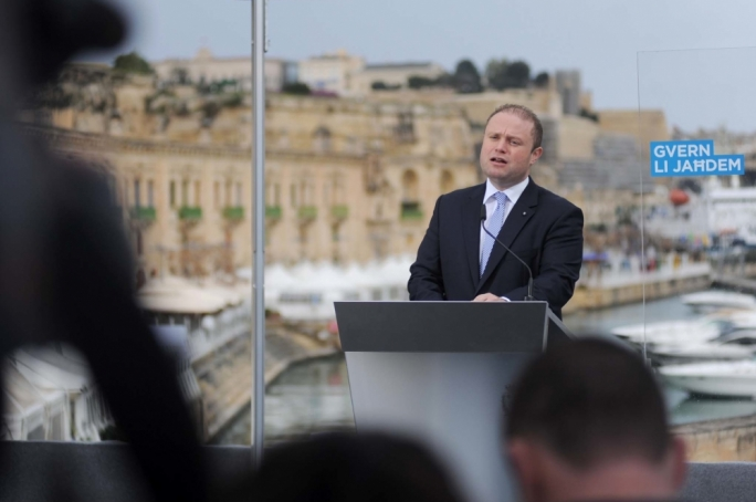 Joseph Muscat enjoys a healthy lead in the trust barometer