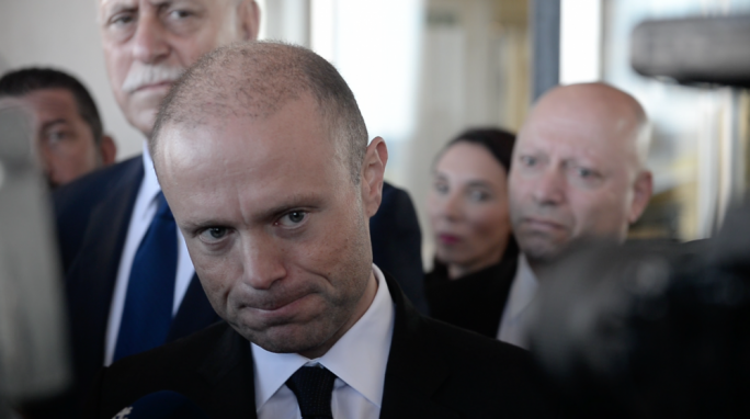 Muscat continued to exchange texts with Yorgen Fenech, 'in consultation with Security Service'