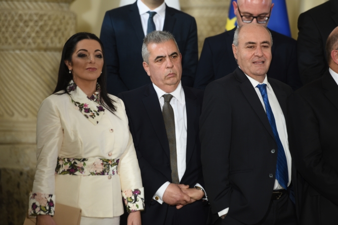 Promoted: citizenship parliamentary secretary Julia Farrugia gets tourism, while social policy minister Michael Falzon remains in place, and former environment minister José Herrera gets arts, heritage and culture