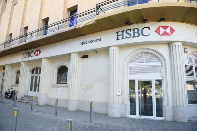 The HSBC branch in Bormla was one of a series of branches shuttered back in 2019