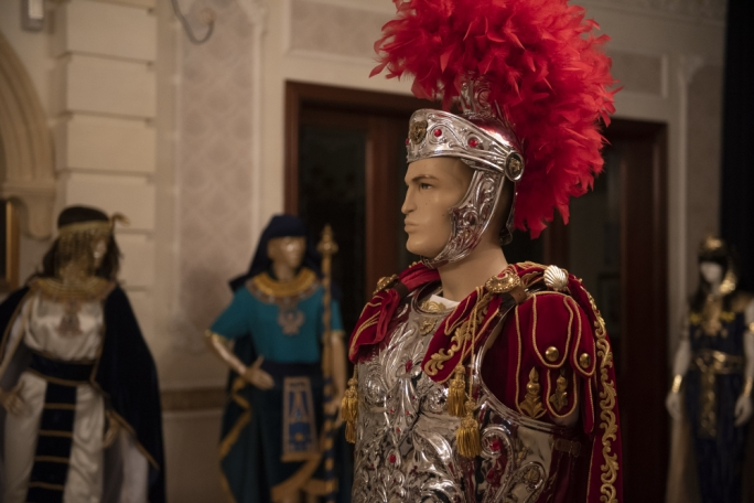 Costume used during the Good Friday procession in Zebbug
