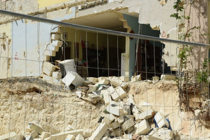 On Thursday a second building collapsing in Gwardamanga
