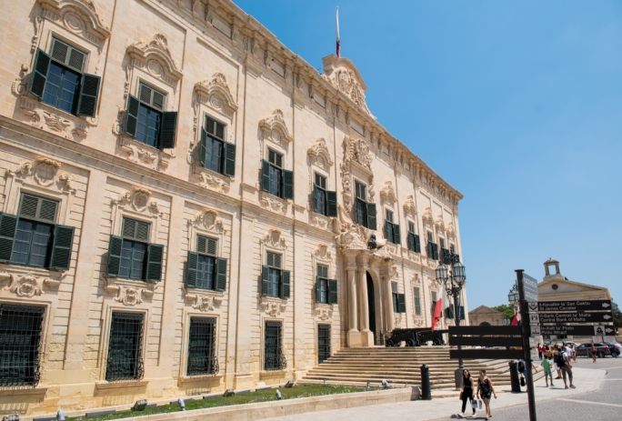 The Maltese government said that rather than not fulfilling its duties, it was awaiting 'a tangible procedure to follow'