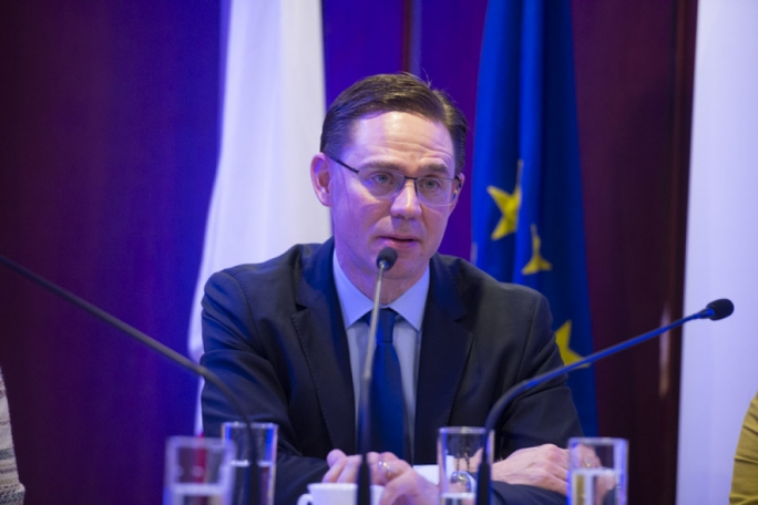 European Commission vice-president Jyrki Katainen