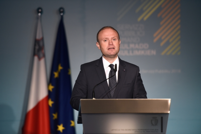 [WATCH] Revision of Dublin rules on migration not plausible at next EU summit, Joseph Muscat says