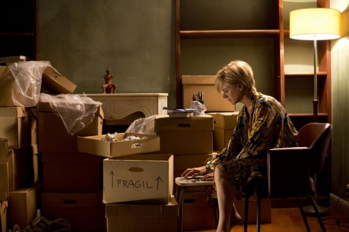 Fragile dreams: Julieta (Emma Suarez) is burdened with a painful past she's struggling to reconcile with in Pedro Almodovar's latest time-hopping drama