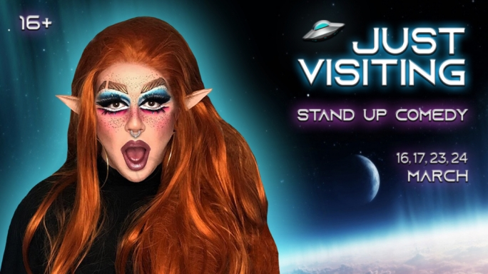 Maltese drag queen back with brutal new stand up comedy show